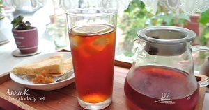 天氣太熱,來泡壺冰紅茶吧!