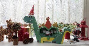 朋友聚會玩紙藝,順便帶個自製 扭蛋紙機關 回家!