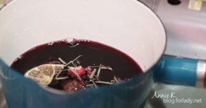 耶誕聚會,自己製作 熱紅酒 和 烤起士