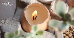 試著,自己做浪漫蠟燭