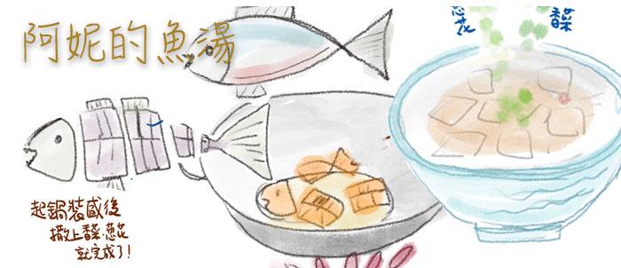 阿妮的 魚湯食譜,煮魚湯就是這樣簡單呀!